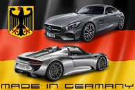 MADE in GERMANY sleek RACING CAR POSTER collectors 24X36 HOT NEW MODERN