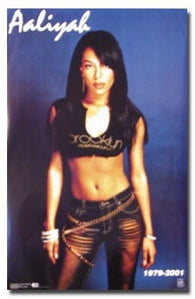 AALIYAH POSTER 1979 - 2001 RARE HOT NEW 24X36