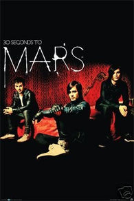 (22x34) 30 Seconds to Mars (Group) Music Poster Print