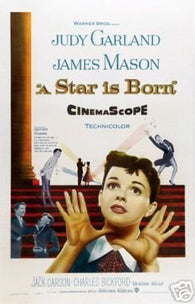 A Star Is Born Movie Poster Judy Garland James Mason 1