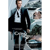 (24x36) Casino Royale Movie (Action Collage, Daniel Craig as James Bond) Poster Print