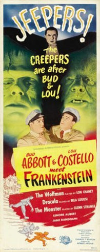 Abbott and Costello meet Frankenstein Movie Poster 7