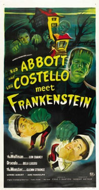 Abbott and Costello Meet Frankenstein Movie Poster 6