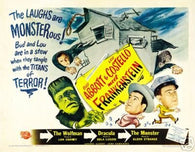 Abbott and Costello Meet Frankenstein Movie Poster 2