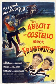 Abbott and Costello Meet Frankenstein Movie Poster 1