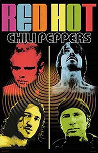 (24x36) Red Hot Chili Peppers (Psychedelic, Color) Music Poster Print