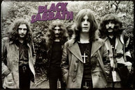 (24x36) Black Sabbath (Group, Wearing Crosses) Music Poster Print