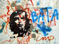 CHE GUEVARA POSTER Amazing Graffiti RARE HOT NEW 24x36