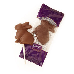 Milk Chocolate Bunny Lolly, 30 g - Case of 50
