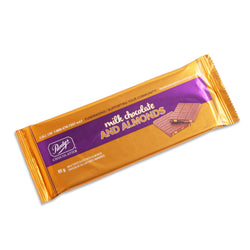 Milk Chocolate with Almonds Bar,  85 g - Case of 50