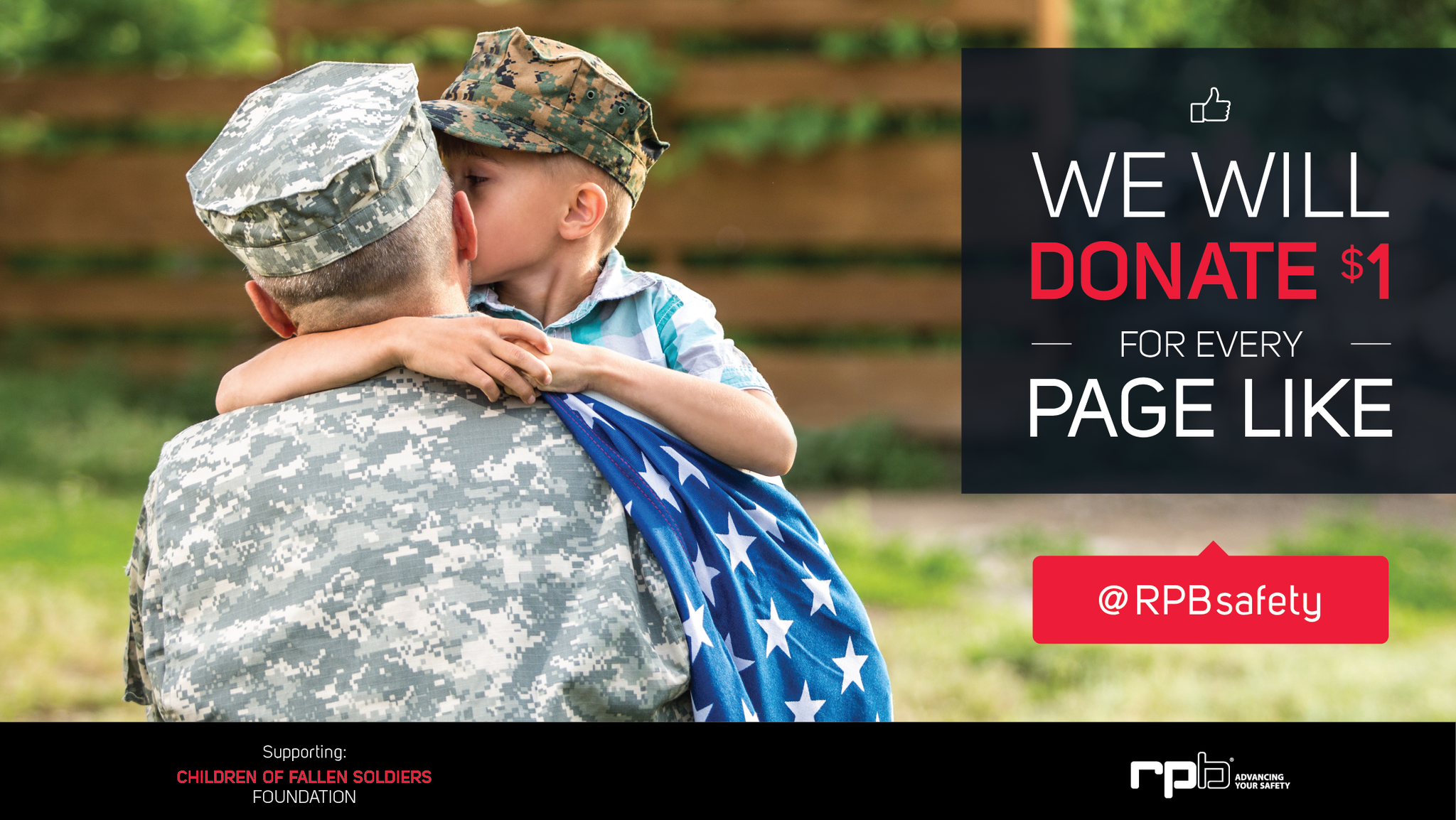 FALLEN BUT NOT FORGOTTEN: YOU CLICK. WE DONATE.