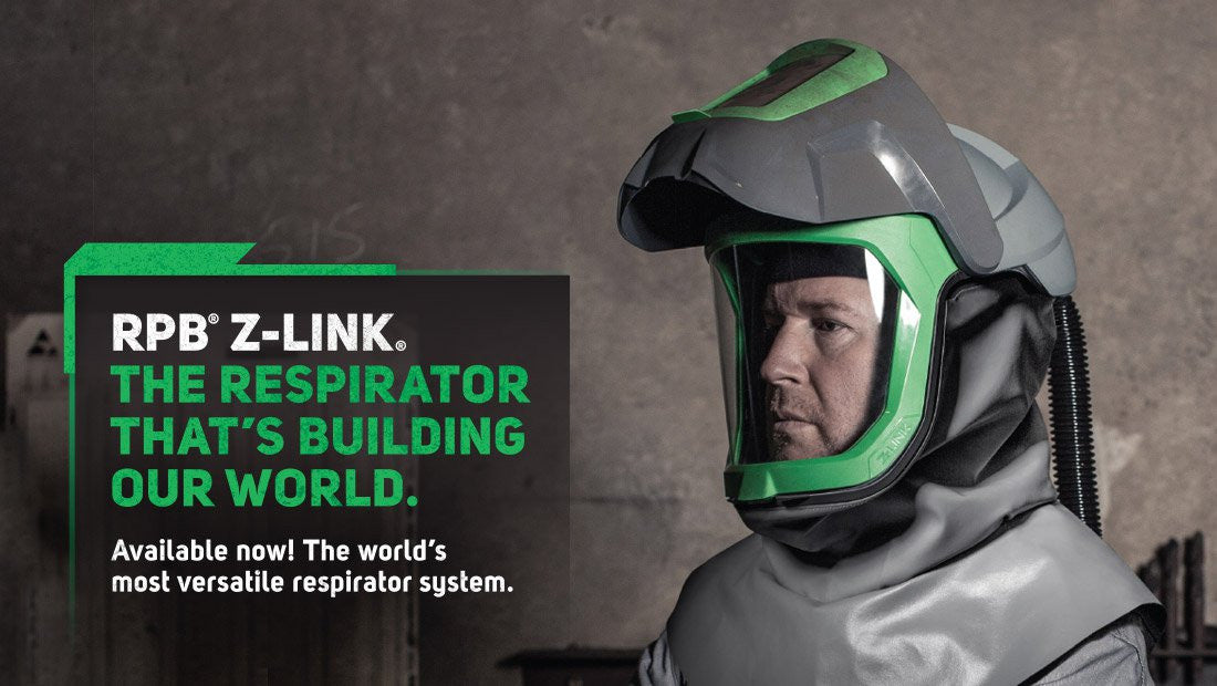 NOW AVAILABLE: THE RESPIRATOR THAT'S BUILDING OUR WORLD