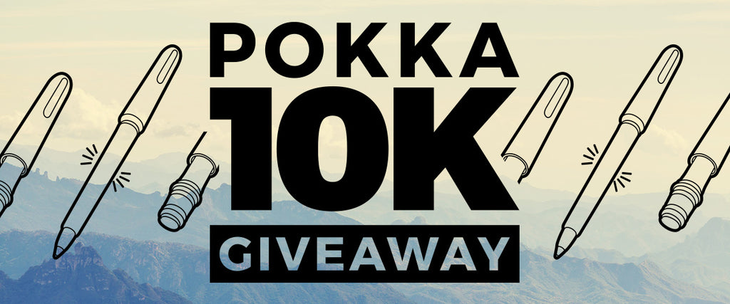 Announcing the Pokka 10K Giveaway!