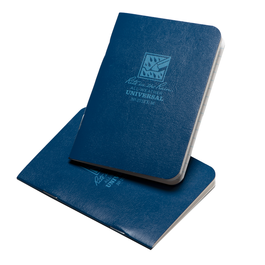 All-Weather Notebook - Blue Two Pack