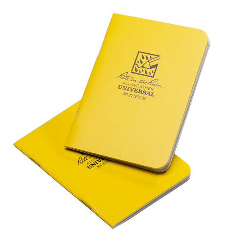 All-Weather Notebook - Yellow Two Pack