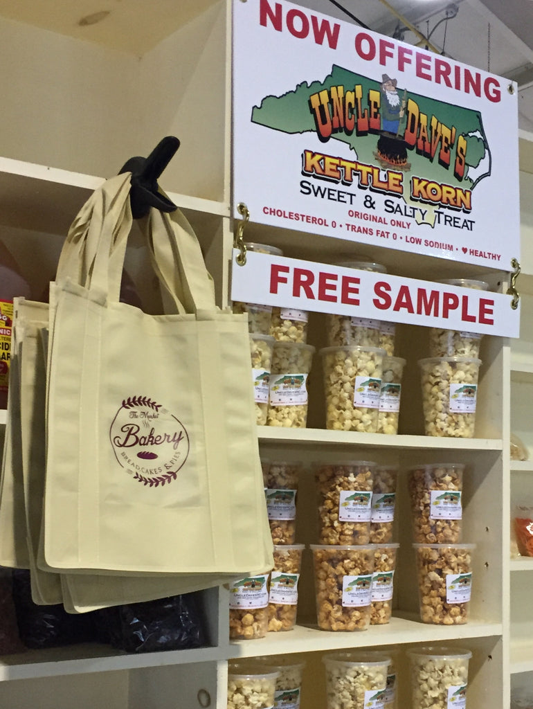 Spring UPDATE:  Uncle Dave's Kettle Korn in Stores, Bacon Cheddar at World Beer Fest and a Busy, Busy April