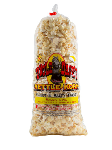 2 Medium Bags - Original Kettle Korn - Uncle Dave's NC