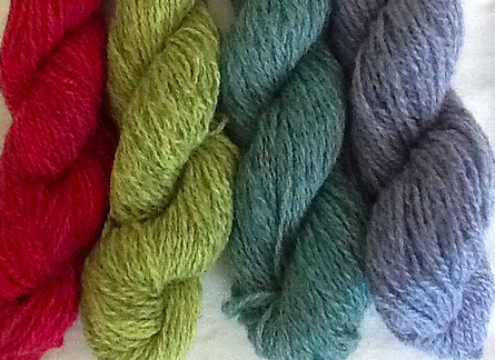Elemental Affects North American Shetland Wool