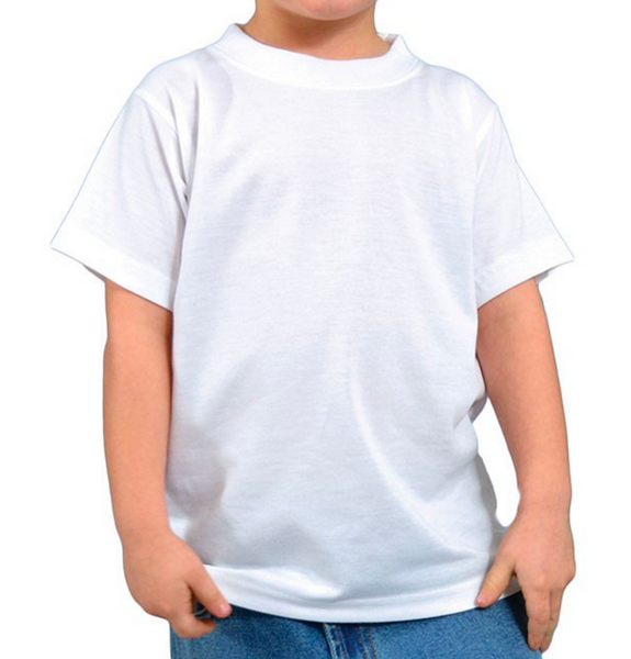 Toddler Polyester Short Sleeve Crew Neck Tee