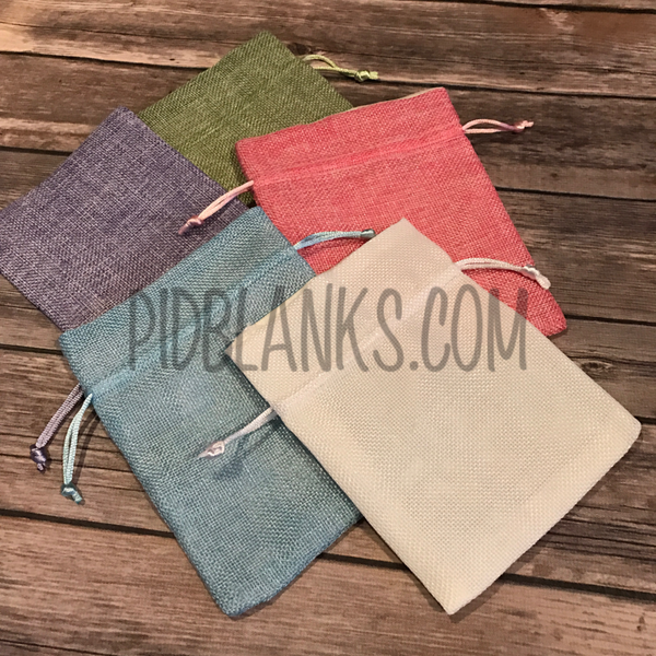 Jute Fabric Treat Bags