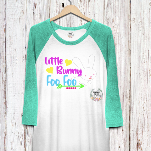 Little Bunny Foo Foo SVG*PNG Digital Download