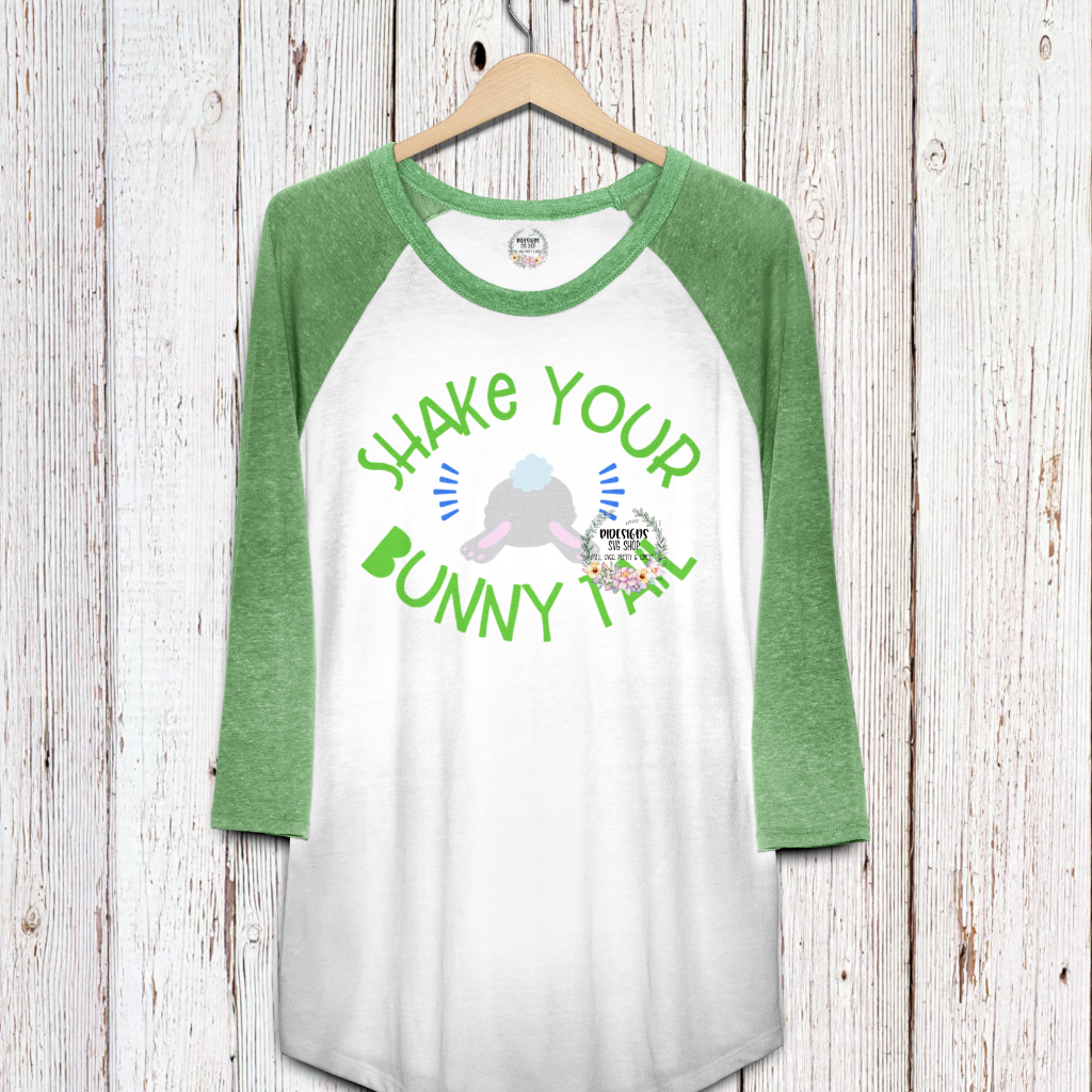 Shake Your Bunny Tail SVG*PNG Digital Download