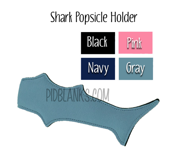 Shark & Mermaid Popsicle Holders