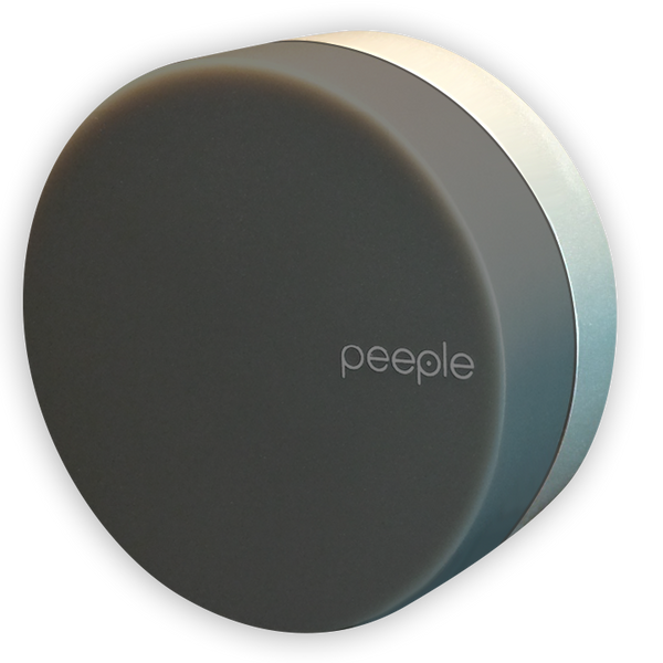 Peeple - Smoke - Metal Colored Bracket