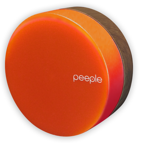 Peeple - Fire - Wood Colored Bracket