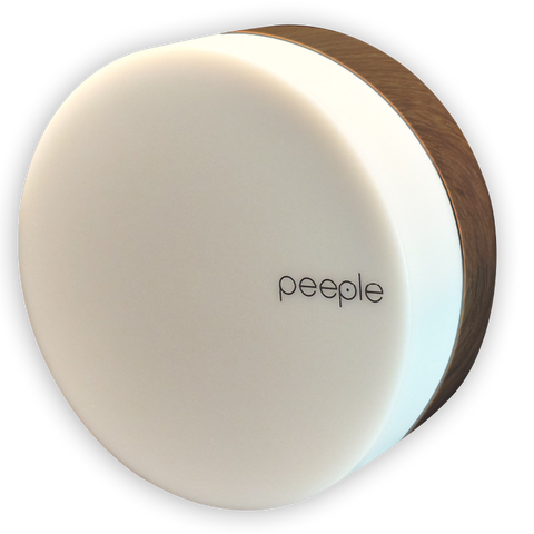 Peeple - Snow - Wood Colored Bracket