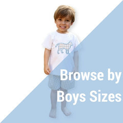 Browse by Boys Sizes at Eliza James Kids