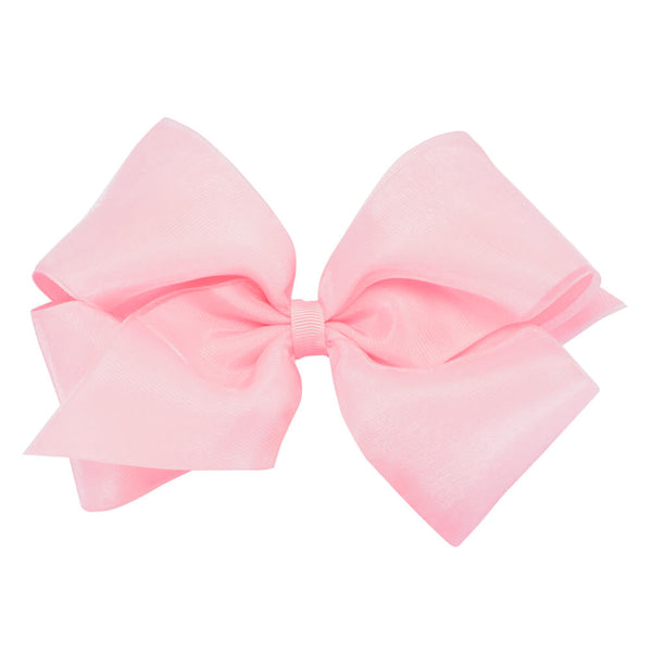 Light Pink Organza Bow