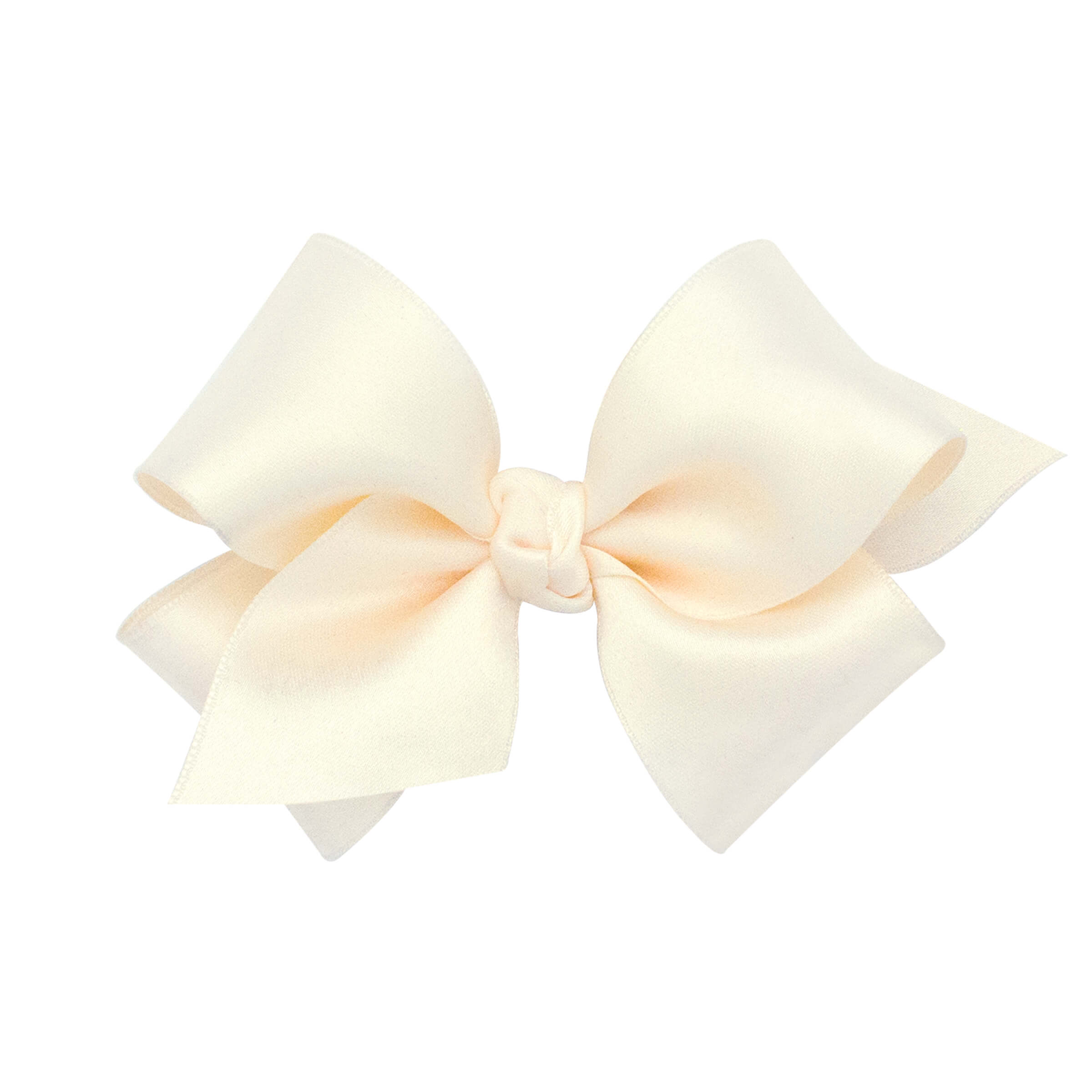 Ecru Satin Bow