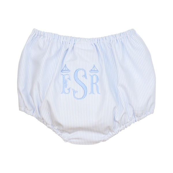 Blue Mini Stripe Swim Bloomer