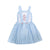 Blue Windowpane Girls Dress