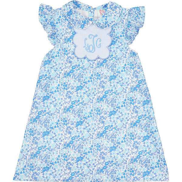 Blue Liberty Tab Dress