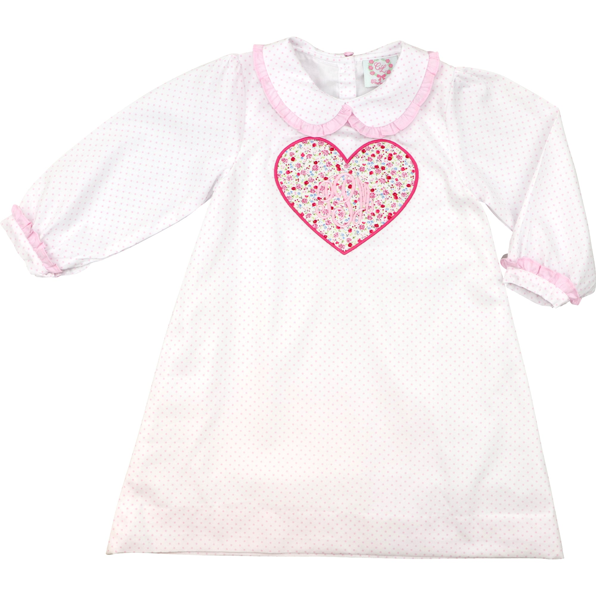 Pink Dot and Liberty Heart Dress