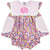 Liberty and Pink Gingham Pocket Diaper Set