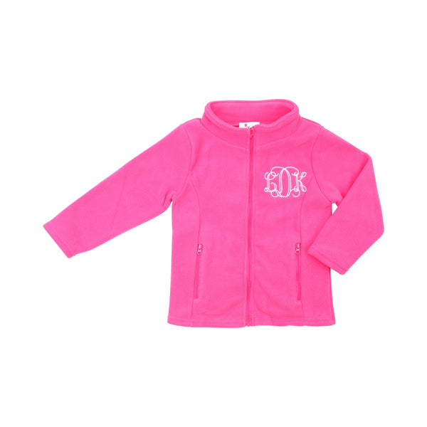 Hot Pink Fleece Jacket