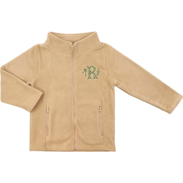 Khaki Fleece Jacket