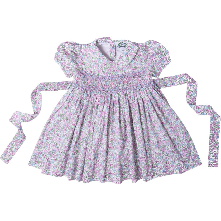 Lavender Liberty Smocked Dress