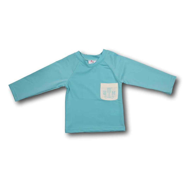 Light Blue Rash Guard
