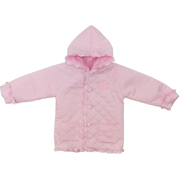 Light Pink Quilted Coat