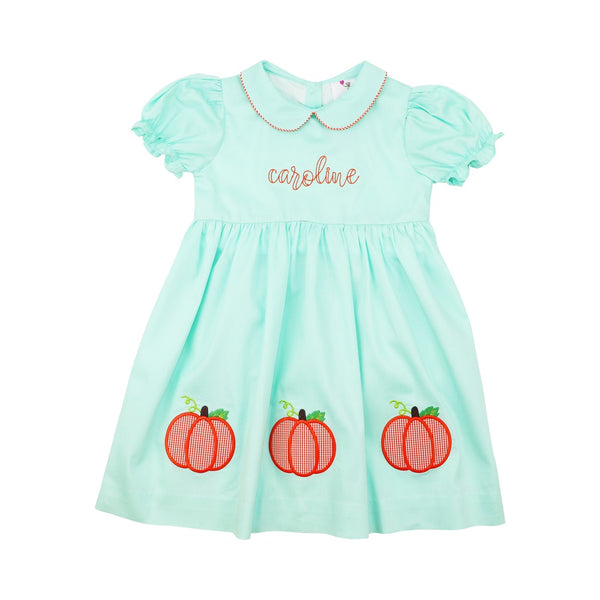 Mint Pumpkin Dress