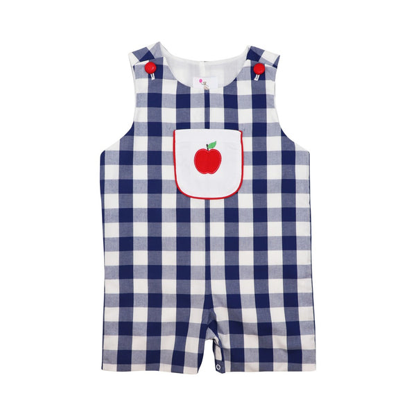 Navy Buffalo Check Apple Jon Jon