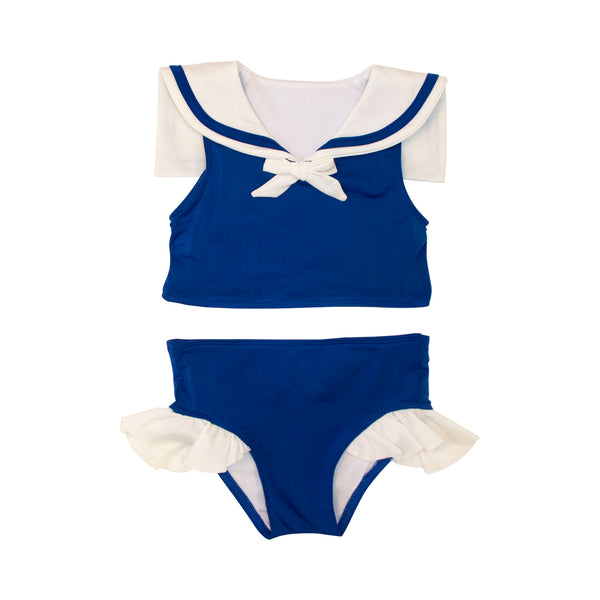 Navy Sailor Bikini Set