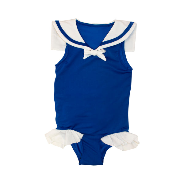 Navy Sailor Swimsuit