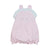 Pink Mini Stripe Eyelet Bubble