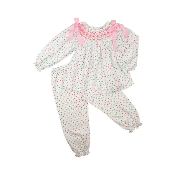 Rosebud Smocked Pant Set