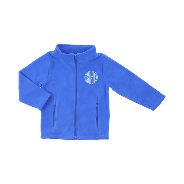 Royal Blue Fleece Jacket